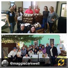 RG @maggiecarswell: Rebuilding Together 2015, Saint Mary's had given me countless opportunities to serve during my time here! @bellesgiveback