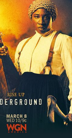 Created by Misha Green, Joe Pokaski. With Jurnee Smollett-Bell, Aldis Hodge, Jessica De Gouw, Alano Miller. Underground centers on a group of slaves planning a daring 600-mile escape from a Georgia plantation. Along the way, they are aided by a secret abolitionist couple running a station on the Underground Railroad as they attempt to evade the people charged with bringing them back, dead or alive.