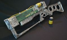 Just in Time for Fallout 4: 3D Print Your Own AER9 Laser Rifle http://3dprint.com/93375/3d-printed-aer9-laser-rifle/
