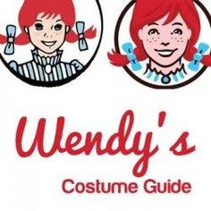 Wendy's Costume (Fast Food Restaurant Mascot)