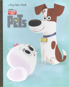 Take a look at this The Secret Life of Pets Big Golden Book Hardcover today! Secret Life Of Pets, Animal Books, Children's Picture Books, Little Golden Books, Retriever Puppy, Mystery Books, Animal Party, Art Lessons, The Secret
