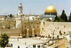 On my bucket list, I want to see Israel.