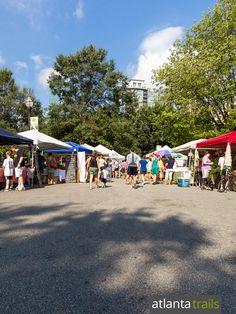 Visit the Piedmont Park Green Market, one of Atlanta's best warm-weather farmers markets