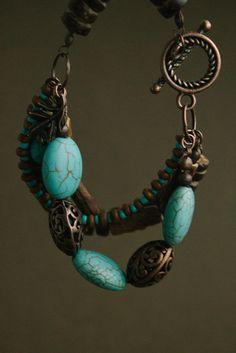 Wild Wind Boho Bracelet от TaigaTheBorealForest на Etsy