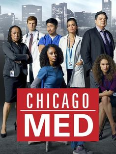 Chicago Med - An emotional thrill ride through the day-to-day chaos of the citys most explosive hospital and the courageous team of doctors who hold it together. They will tackle unique new cases inspired by topical events, forging fiery relationships in the pulse-pounding pandemonium of the emergency room.