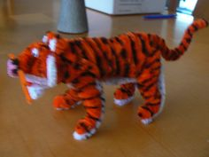 pipe cleaner tiger