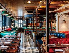 toronto restaurants | The restaurant Drake One Fifty, in Toronto's financial district ...