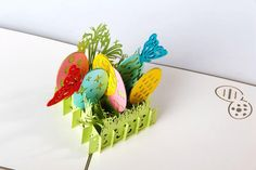 3D pop up ручной лазерной резки старинные карточки пасхальные яйца творческие подарки открытка поздравительные открытки купить на AliExpress