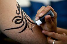Earth Jagua Black Temporary Tattoo Kit by EarthHenna on Etsy, $19.95