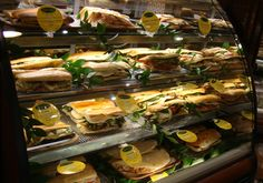 Beautiful, Fresh Panini Sandwiches at Lombardi's Market, Holbrook NY - Repinned by http://lanesalesinc.com/ Wholesale Flooring Sales