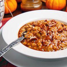 Slow Cooker Pumpkin Pie Steel Cut Oatmeal {recipe}