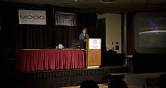 NASA's Langley center director, Lesa Roe, was a key note speaker at the 2012 SpaceVision conference - the largest student-run and student-focused space conference in the nation.