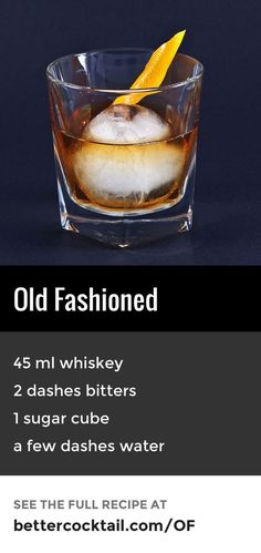 how to make cocktail with whisky