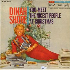 Dinah Shore ~ You Meet the Nicest People at Christmas album, 1960