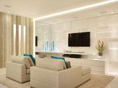 Branco na decoração: em tudo ou nos detalhes, cor é aposta certa - Notícias - Casa GNT