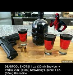 #Deadpool shots