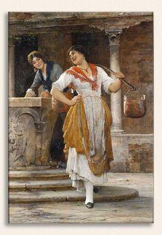 Eugene de Blaas, Su Taşıyıcı, Tarih: 1887