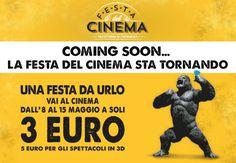 Festa del Cinema: 3 euro il biglietto. Ecco come e dove vedere i film