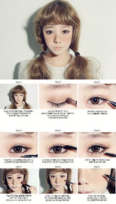 How to Look like a Doll - DIY