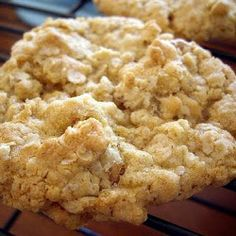 Chewy Oatmeal Cookies... These are great... And I added chocolate chunks too!  Yuuummm!!!!!