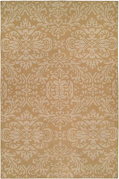 Flatwoven Rugs - Formal Gallery: Damask Dhurrie, Handmade in India; size: 6 feet 0 inch(es) x 9 feet 0 inch(es) & other sizes
