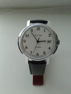 Vintage Soviet mechanical mens watch VOSTOK by VintageAndWatches, $38.00