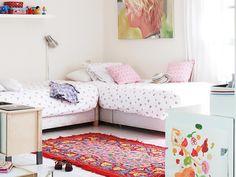 Dormitorio para dos hermanas