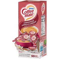 Lactose Free Coffee Creamer, French Vanilla Creamer, Junk Food Snacks, Cinnamon Spice, Vanilla Flavoring, Coffee Drinks, Creme, Happy Thoughts, Espresso Machine