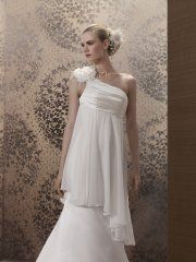 Suknia ślubna Prinuptia Brune, kolor ivory i biel