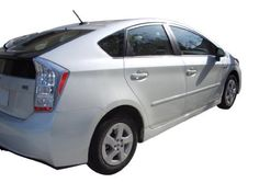 Toyota Prius Body Side Moldings Painted in the Factory Paint Code of Your Choice 1F7 - http://caraccessoriesonlinemarket.com/toyota-prius-body-side-moldings-painted-in-the-factory-paint-code-of-your-choice-1f7/