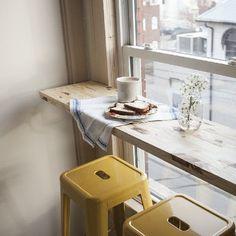 窓辺にカウンターを。カフェから学ぶ癒しの空間づくり LOVEGREEN(ラブグリーン)