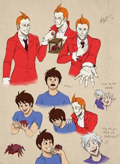 YES! I love this! Especially Steve :3 Cirque du Freak