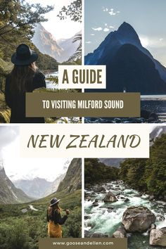 Visiting Milford Sound should be high up on your list for things to do in New Zealand. The place is absolutely magical. In this guide to Milford Sound we tell you all the best spots to visit and everything you need to know before planning your South Island road trip. Fiordland National Park is well and truly one of the top things to do in the South Island. #milfordsound #milfordsoundroadtrip #newzealandroadtrip #fiordlandnationalpark