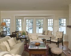 Neutral Country Living Rooms Design, Pictures, Remodel, Decor and Ideas - page 2