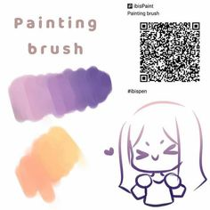Brush Drawing, Drawing Base, Brush Pen, Drawing Tips, Art Brush, Digital Painting Tutorials, Digital Art Tutorial, Paint Pens, Paint Brushes