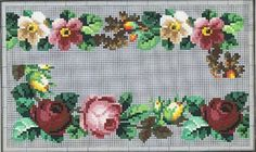 Beautiful Berlin WoolWork Floral Borders