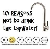 Here are ten reasons NOT to drink the TAP WATER (and why preppers should filter their everyday water): http://happypreppers.com/tapwater.html  #preppertalk