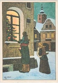 Josef Lada - Radostné Vánoce a šťastný nový rok (č. 2127)