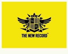 The New Record  really great logo.