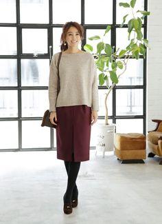 【1月冬の服装】大人レディースファッションコーデ2017 | SUWAI