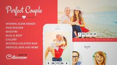 Download and review of Perfect Couple - Wedding WordPress Theme, one of the best Themeforest Wedding themes