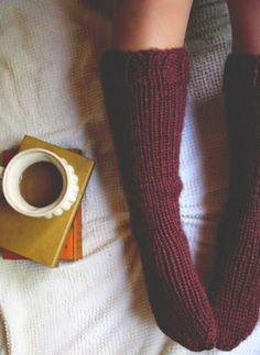 Cozy Hand Knit Socks | Boho Winter Accessories