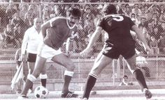 Toni durante o Académica 0-2 Benfica de 1978/79.