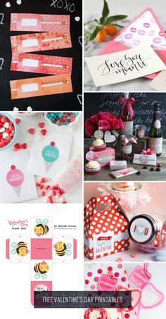 Free Valentine's Day Printables Roundup as seen on papercrave.com