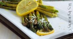 asperges grillees au parmesan et citron 1 Samar, Parmesan, Asparagus, Grilling, Gluten, Beef, Chicken, Vegetables, Cooking