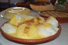 Receitas práticas de culinária: Farófias Portuguese Desserts, Portuguese Recipes, Portuguese Food, Traditional Cakes, Just Desserts, Food Inspiration, Catering, Food To Make, Delish