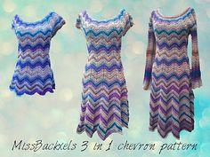 Ravelry: MissBackxels 3 in 1 chevron set pattern by MissBackxels by Lee Backx