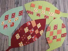 Ezeket a leveleket egyszerű elkészíteni, csupa maradékpapír kell csak hozzá, szóval indulhat a gyűjtögetés! Autumn Art, Autumn Theme, Diy For Kids, Crafts For Kids, Techno, Mandala, Activities, Holiday Decor, Fall