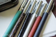 Faber-Castell Ambition pens now available at Goulet Pens.