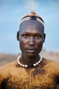Omo Valley, Ethiopia.  photographer, Steven McCurry